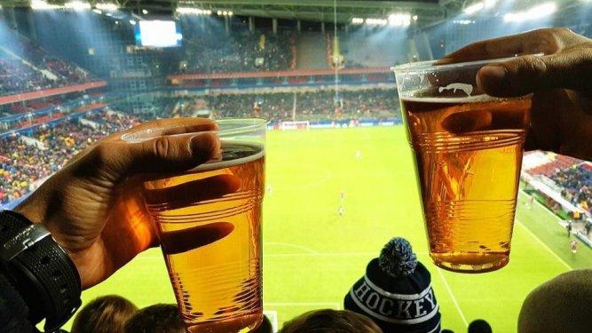 Минфин поддержал возвращение пива на стадионы