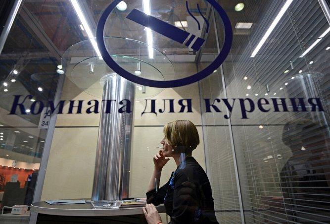 """С 8 января в """"чистых"""" зонах аэропортов разрешили устраивать комнаты для курения"""