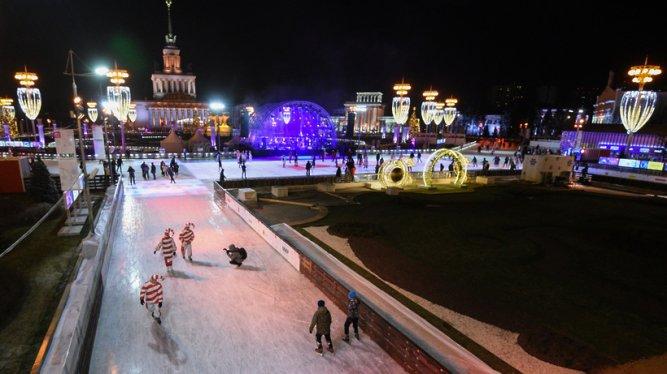 Москвичам предложили оценить катки в городских парках