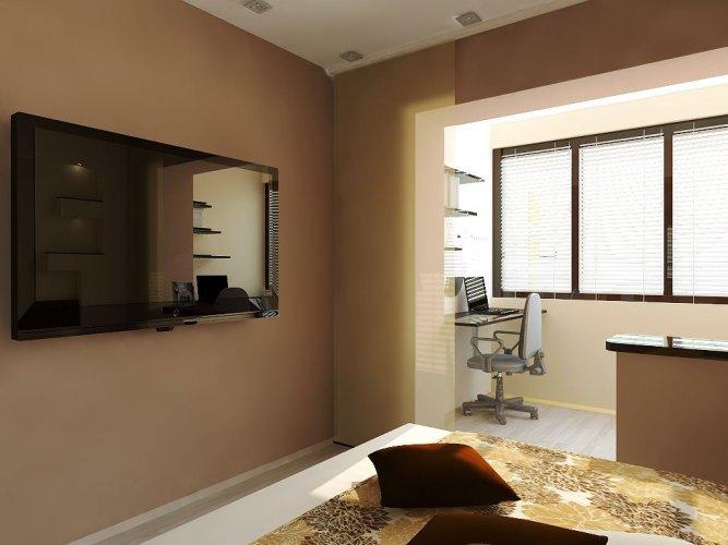 Объединение балкона и комнаты – это реконструкция, а объединение лоджии и комнаты – перепланировка